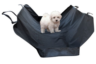 Paws & Pals Pet Hybrid Hammock Car Seat Cover for Rear Bench Seat