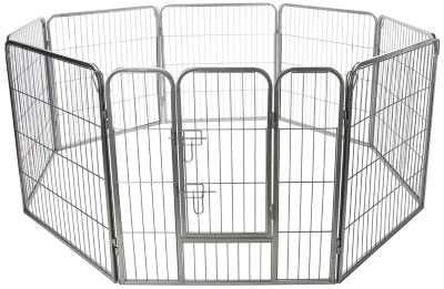 Paws & Pals Pet 8 Panel Heavy Duty Fence Playpen