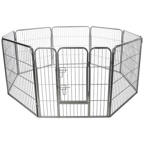 Paws & Pals Pet 8 Panel Heavy Duty Fence Playpen