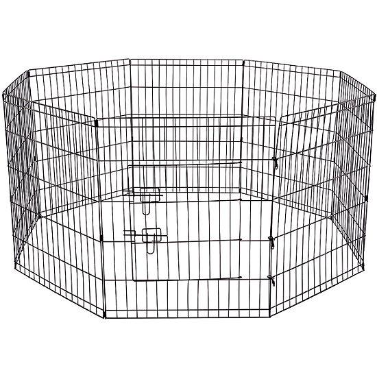 Paws & Pals Pet Metal 8-Panel Folding Exercise Yard