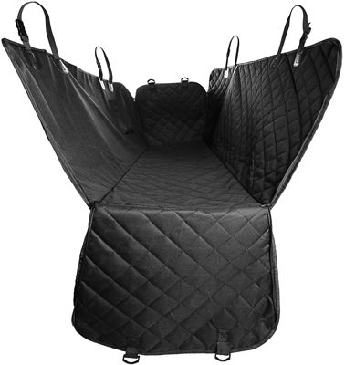 Paws & Pals Pet Car Seat Cover for Rear Bench Seat