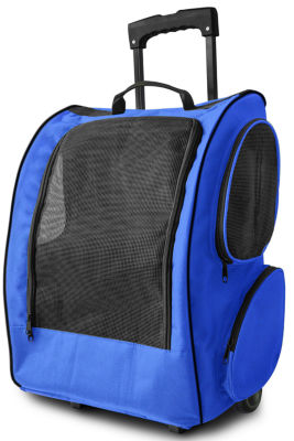 "Paws & Pals Pet Rolling Backpack - 19""H"""