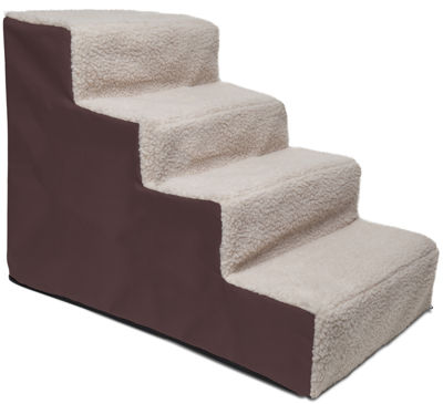 Paws & Pals Dog Stairs - Brown