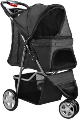 Paws & Pals Folding Pet Stroller