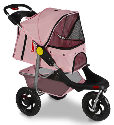 Paws & Pals Deluxe Folding Pet Stroller