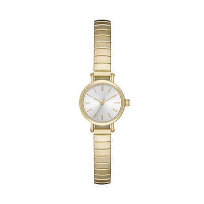 Unisex Gold Tone Expansion Watch-Fmdjo128