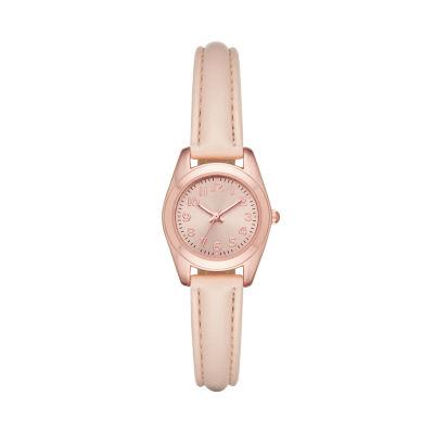 Unisex Pink Strap Watch-Fmdjo129