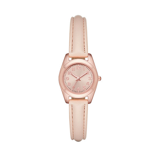 Womens Pink Strap Watch-Fmdjo129