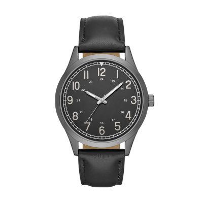 Unisex Black Strap Watch-Fmdjo132