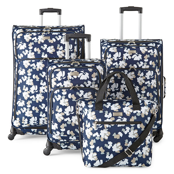 "Protocol Centennial 21"" Printed Spinner Carry On Luggage"