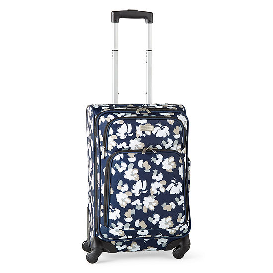 """Protocol Centennial 21"""" Printed Spinner Carry On Luggage"""