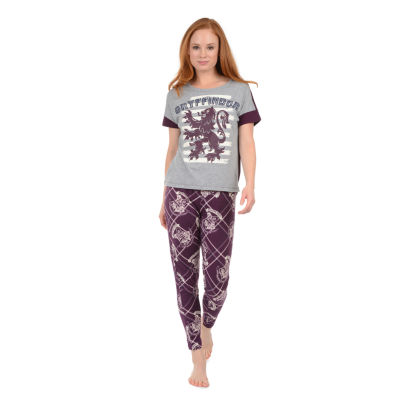 Harry Potter Short Sleeve Round Neck Pajama Top-Juniors
