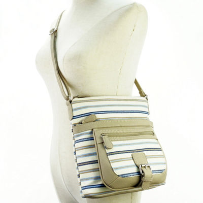 St. John's Bay Mini Multiflare Crossbody Bag