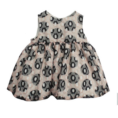 Marmellata Jacket Dress Short Sleeve Dress- Baby Girls
