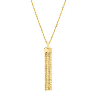 Infinite Gold Womens 14K Gold Pendant Necklace