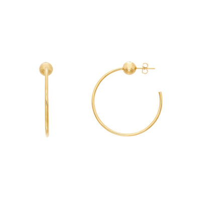 Infinite Gold 14K Gold 40mm Hoop Earrings