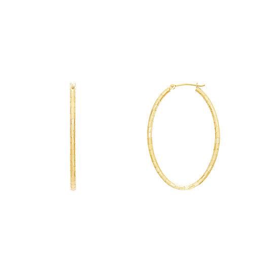 Infinite Gold 14K Gold 40mm Hoop Earrings