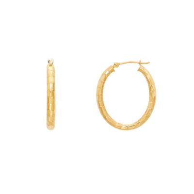Infinite Gold 14K Gold Hoop Earrings
