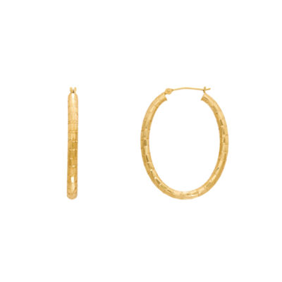 Infinite Gold 14K Gold 35mm Hoop Earrings