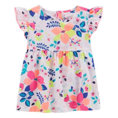Carter's Flutter Sleeve Top - Toddler Girls