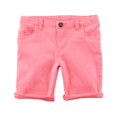 Carter's Roll Cuff Chino Shorts - Toddler Girls 2T-5T