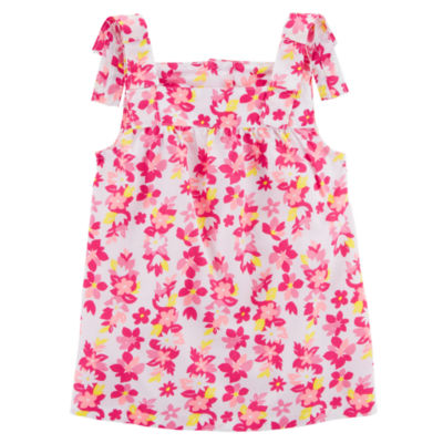 Carter's Floral Tank Top - Preschool Girls