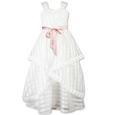 Speechless Sleeveless Stripe Maxi Dress - Big Kid Girls