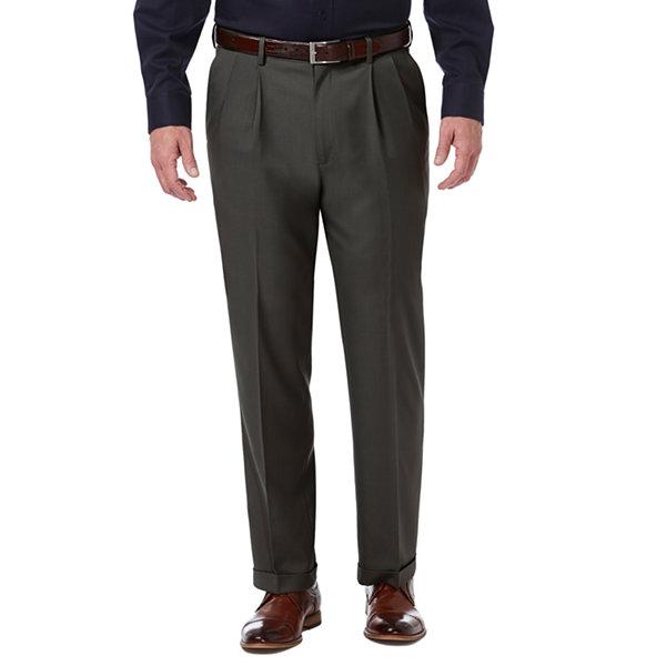 53fd7bba5ce Haggar Cool 18 Pro Mens Slim Fit Flat Front Pant · Haggar Premium Comfort  Dress Pant Classic Fit Pleated