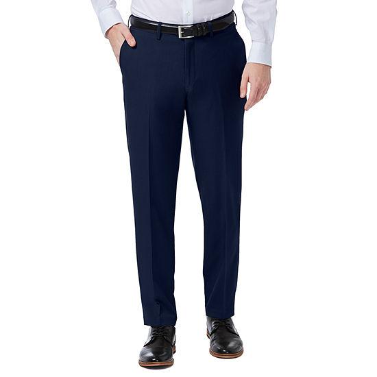 Haggar Premium Comfort Dress Pant Slim Fit Flat Front
