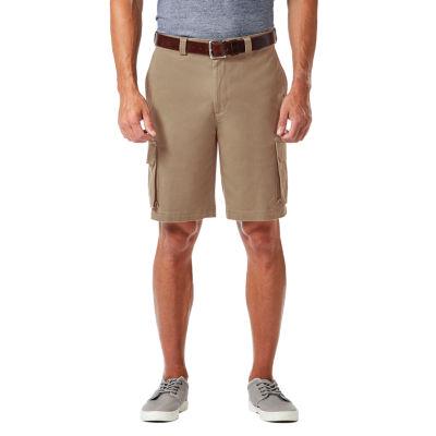 Haggar Mens Stretch Cargo Shorts