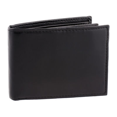 Men's Stafford® Leather RFID Slim-Fold Wallet