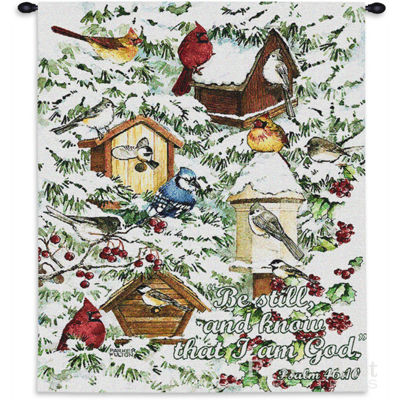 A Winter's Gift Wall Tapestry