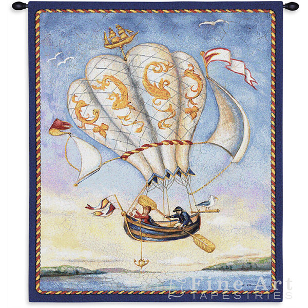 Airship Wall Tapestry