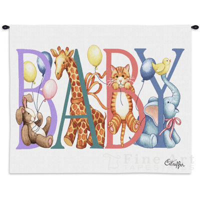 Baby Animals Wall Tapestry