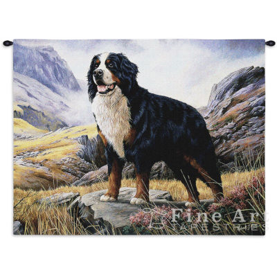 Bernese Mountain Dog Wall Tapestry
