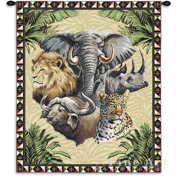 Big Five Wall Tapestry