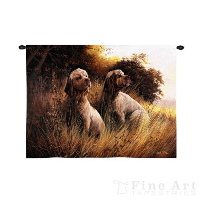 Clumber Spaniel Wall Tapestry
