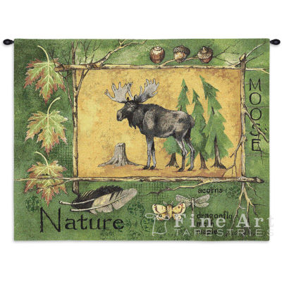 Nature Moose Wall Tapestry