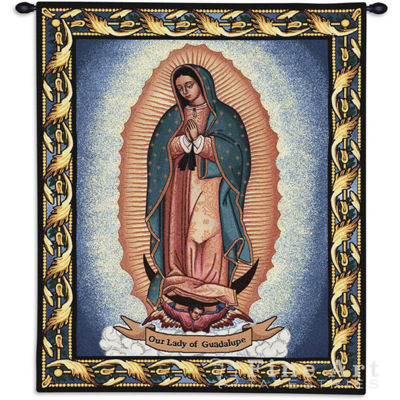 Our Lady Of Guadalupe Wall Tapestry