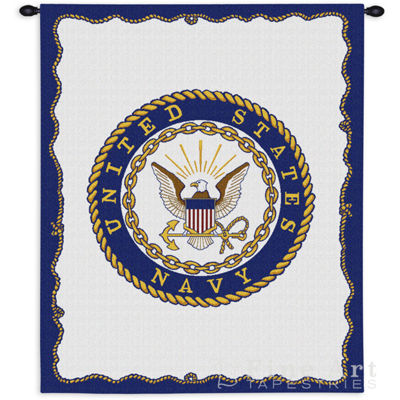 Navy Wall Tapestry
