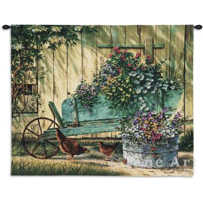 Spring Social Wall Tapestry