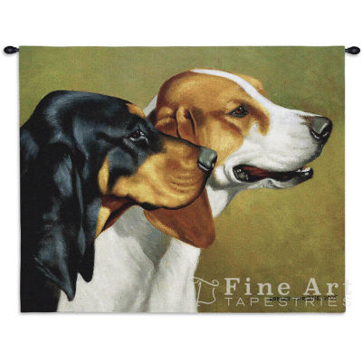 Coonhound Wall Tapestry
