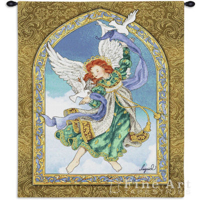 Peaceful Angel Wall Tapestry