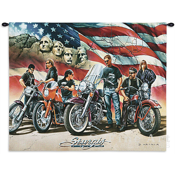 Sturgis Wall Tapestry