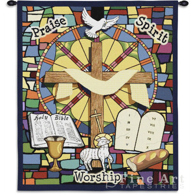 Sunday School Wall Tapestry