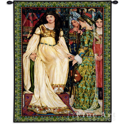 The Keepsake Small Wall Tapestry