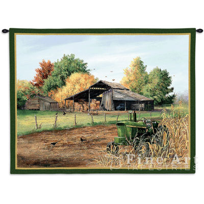 End Of Harvest Wall Tapestry