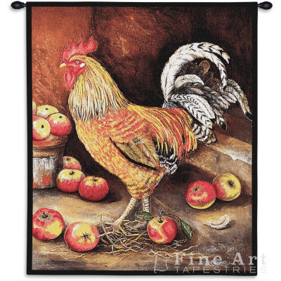 English Cockerel Wall Tapestry