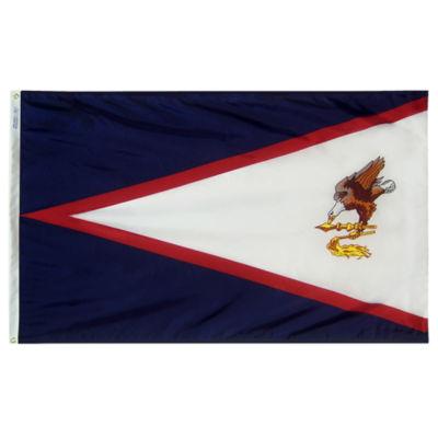 American Samoa Flag 3x5 ft. Nylon by Annin Flagmakers Model 146300