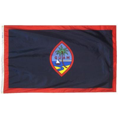 Guam Flag 3x5 ft. Nylon by Annin Flagmakers Model 146660